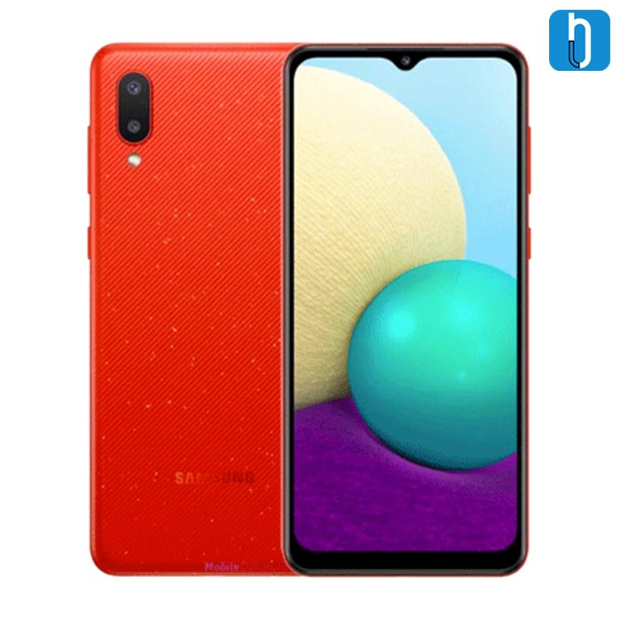 Samsung A02 red
