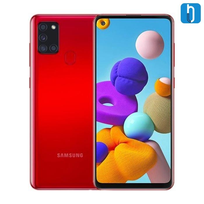 Samsung A21s Red