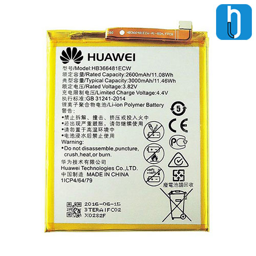 Huawei Nova 3E battery
